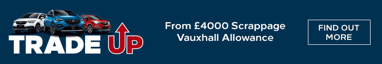 From £4000 Scrappage Vauxhall Allowance